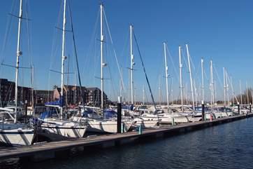 Weymouth marina.