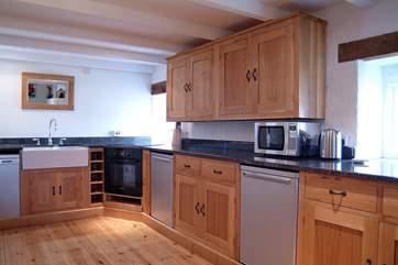 The stunning kitchen.