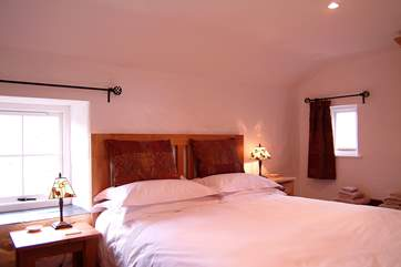 The double bedroom with a five foot double bed (Bedroom 1).
