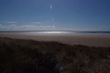 North Devon is famed for its long sandy beaches and excellent Atlantic surfing.