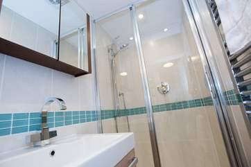 The lovely shower-room.
