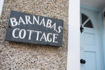 Barnabas is set in a narrow street just 200 yards from the sea.