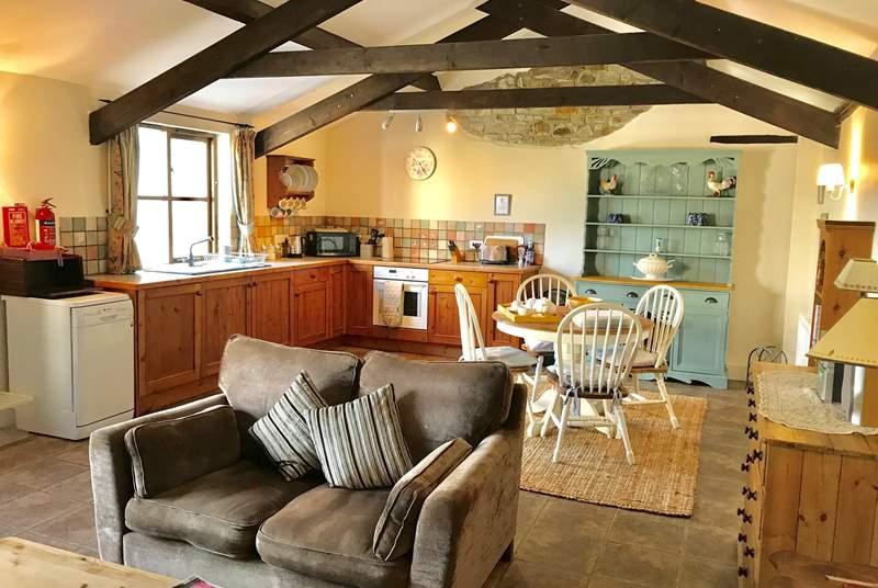 Honeysuckle has a wonderfully spacious open living room
