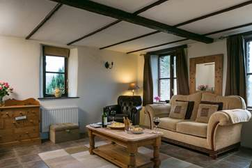 Just relax and unwind in the sitting-area at the end of a busy day exploring North Cornwall.