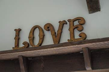 We really hope you 'LOVE' it here.
