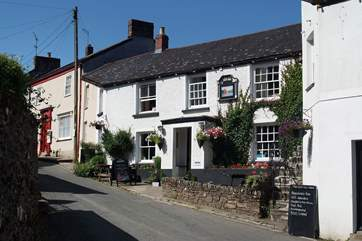 The Ship Inn is popular with visitors and locals alike.