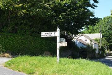 Which way to go to explore first....? You can access lots of the county from this lovely little village.