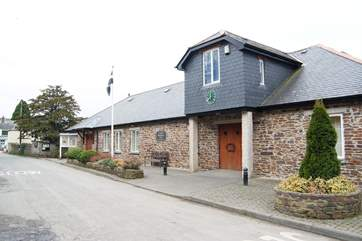 The village hall hosts plays, choirs, jumble sales and talks, and visitors are made very welcome.