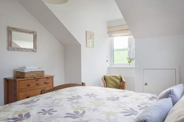 All bedrooms are light and airy.