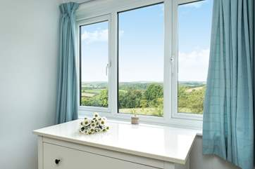 Lovely countryside views from Bedroom one