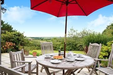 Enjoy meals on the terrace whilst taking in the wonderful views