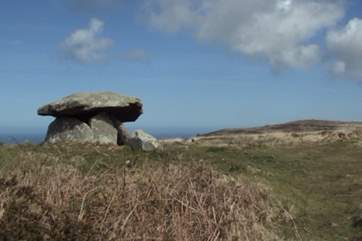 Chun Quoit nearby.