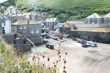 The harbour at Port Isaac.