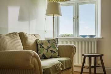 Sit on the comfy sofa in the dining-room with a good book whilst dinner is cooking next door.