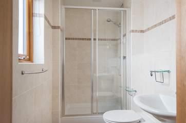 The master ensuite shower room.