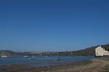 Weir Quay is one of the peaceful spots found on the banks of the nearby River Tamar.