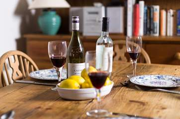 Evenings around the table after a day out exporing - the perfect way to end the day.