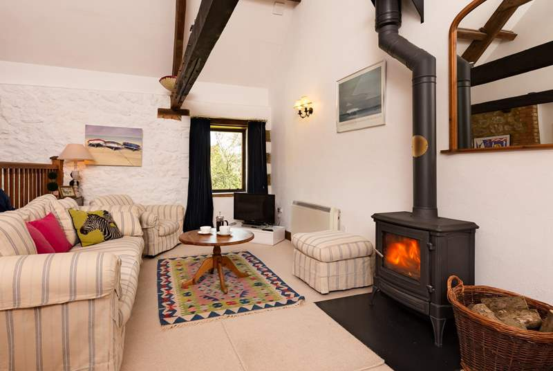 The accommodation is reverse-level and open plan so that you can make the most of the views.