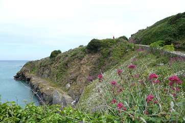 The surrounding coastal walks are stunning.