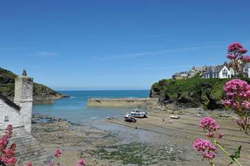 Port Isaac harbour.
