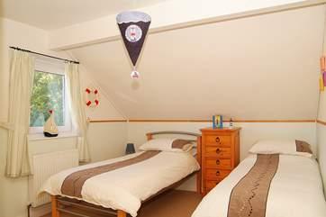 The twin bedroom (Bedroom 1).
