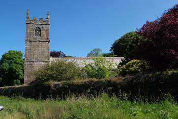 St Erth village church which dates back to the 14th Century.
