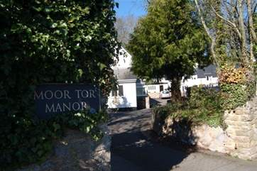 The entrance into Moor Tor Manor.