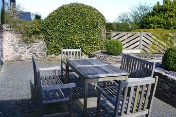 A sunny spot to maybe have an al fresco meal.