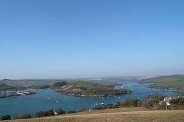 A gorgeous view of the Kingsbridge Estuary taken from east Portlemouth.