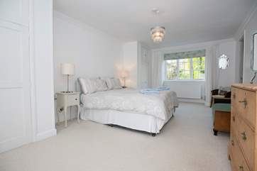 The en suite master bedroom.