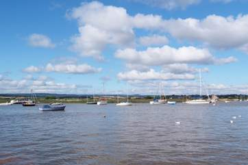 A view across the Exe Estuary from Topsham. A lovely historic riverside town to visit.