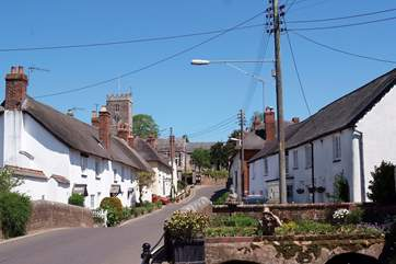 East Budleigh is a very traditional village - with a great community run village shop for all your provisions.