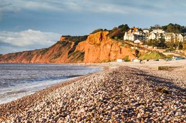 Beautiful Budleigh Salterton is one of those rare unspoilt seaside towns, with a pretty high street as well as the fantastic beach.