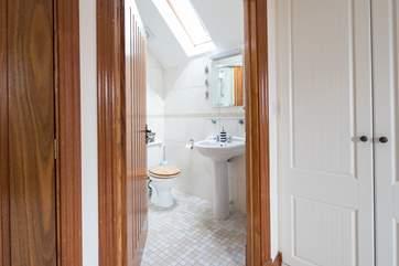 The en suite shower room for the master bedroom, bedroom 1,