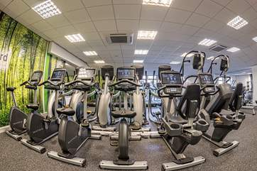 If you like to keep fit on your holiday, take advantage of these facilities at neary Cranford Sports Club in Exmouth, with a complimentary one-day guest membership.
