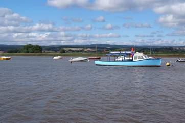 The Exe Estuary at Topsham makes a lovely day out.