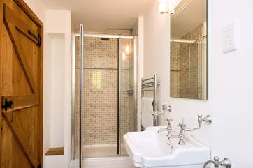 The en-suite shower room to bedroom 1
