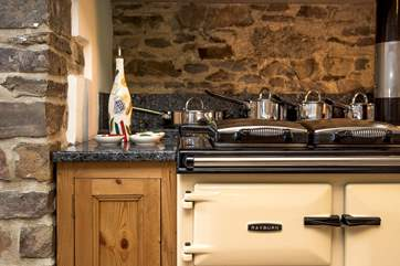 The Rayburn makes the kitchen the heart of the home