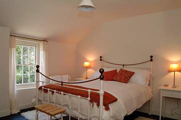 The smaller of the two double bedrooms (Bedroom 2).