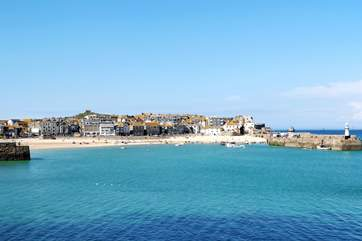 Looking across to St Ives.