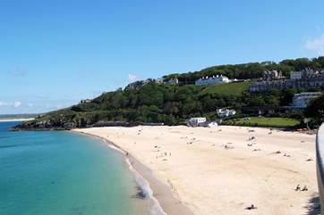 St Ives beach.