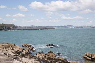 Views across Torbay.