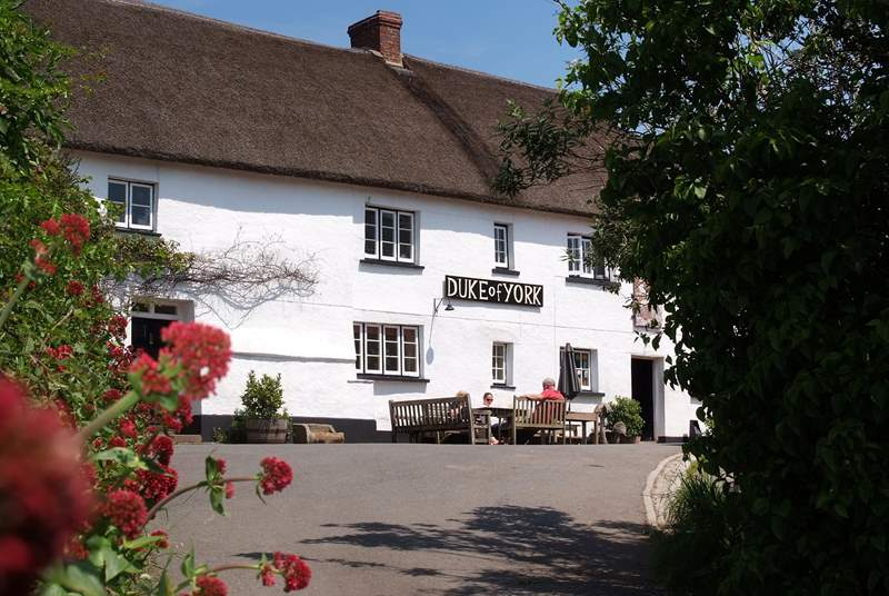 This is the Duke of York in Iddesleigh - featuring in 'The War Horse'.