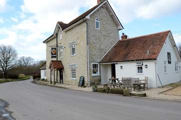 The Benett Arms at Semley, a traditional 16th Century Inn and free house, is a short drive away.