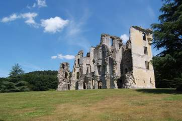 Wardour Castle, an English Heritage ruin, is just a few miles away.