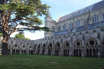 Salisbury is famous for the Cathedral but also has regular markets to visit.