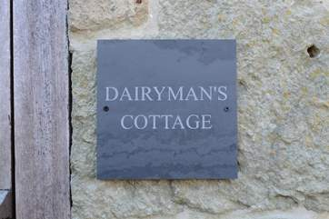 Dairyman's Cottage is a cosy barn conversion.