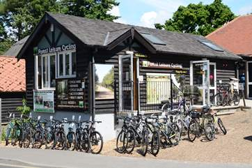 Bicycle hire is available in the villages of Burley and Brockenhurst, there are miles of cycle tracks through ancient woodland and open heathland.