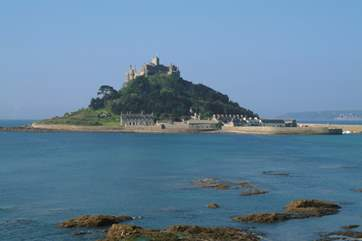 St Michael's Mount at Marazion is definitely worth a visit and is less than 10 miles away from the barns, so easy to visit for the day.