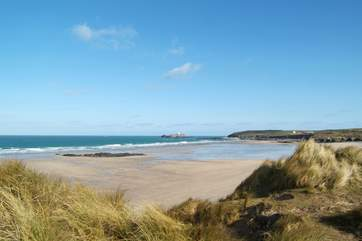 The beach at Godrevy is just a15 minute drive away.